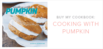 My Cookbook: Cooking with Pumpkin
