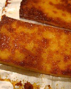 Pumpkin Honey Tofu