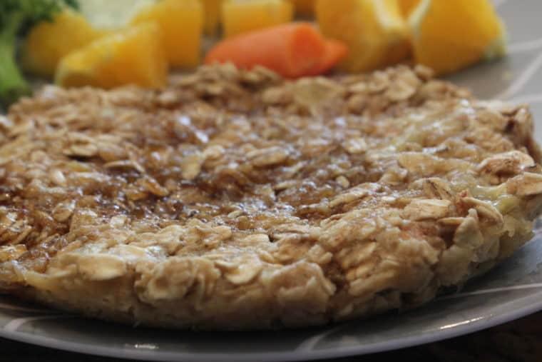 Biggie Microwave Banana Oat Cakes