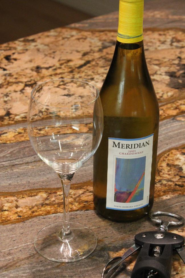 white wine and glass