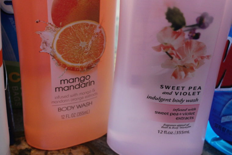 Two body washes