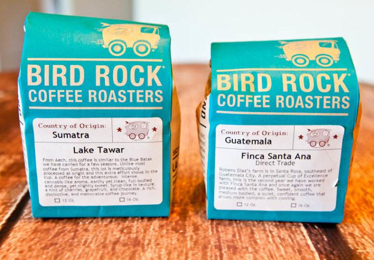 Bird Rock Coffee Roasters Coffees