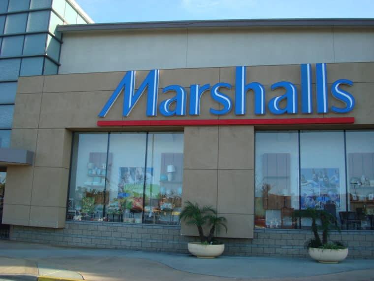 Storefront of Marshalls