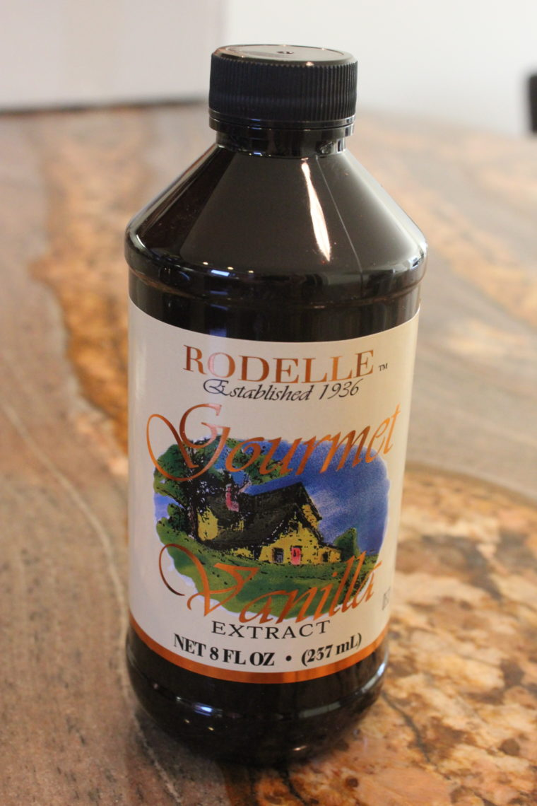 Gourmet Vanilla Extract bottle