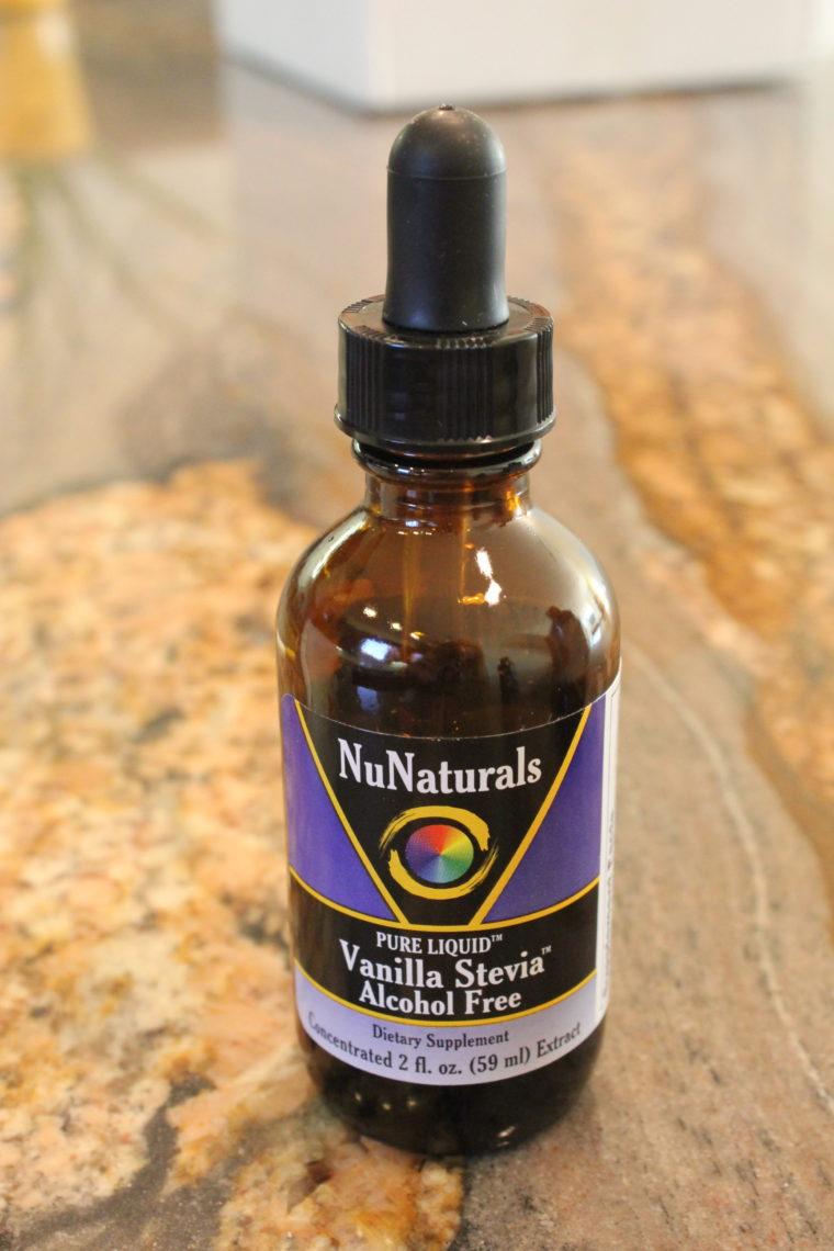 Liquid Vanilla Stevia bottle