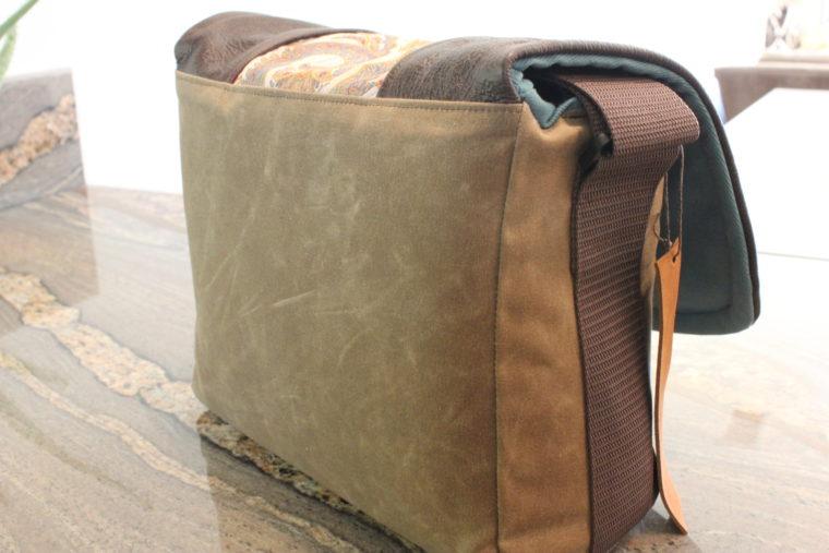 Backside of camera bag
