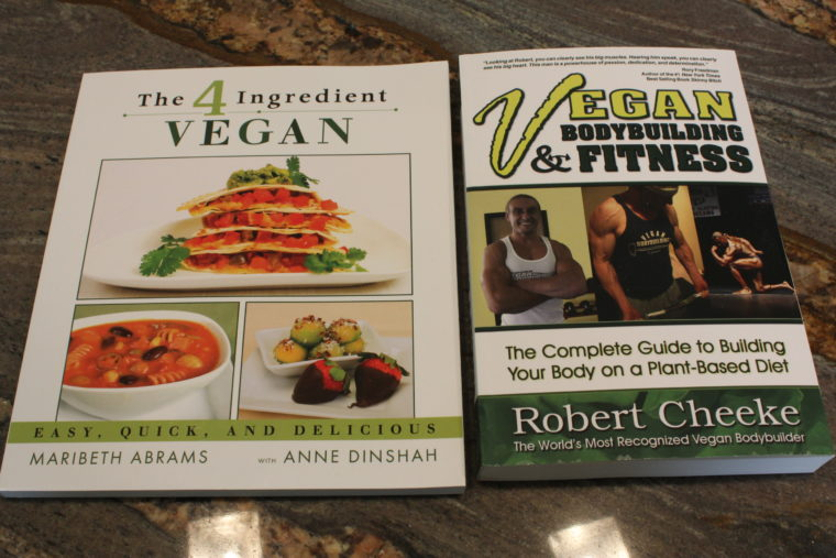 The 4 Ingredient Vegan and Vegan Bodybuilding & Fitness books