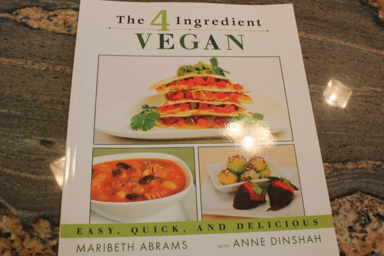 The 4 ingredient Vegan Book cover