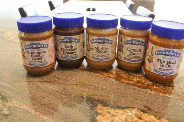 Various Peanut Butter & Co. Peanut Butter Flavors