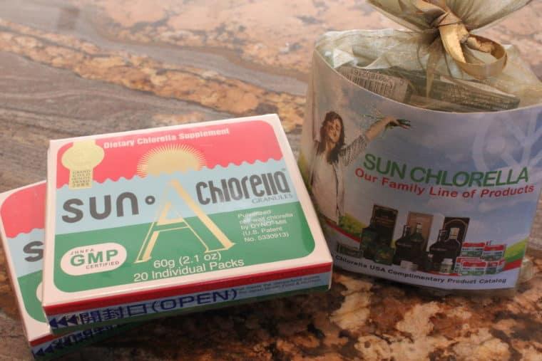 Sun Chlorella Samples