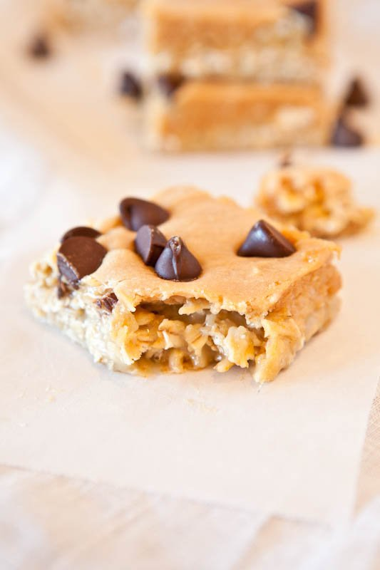 Marshmallow Peanut Butter (Cookie Butter) Double Chocolate Pillowtop Bars