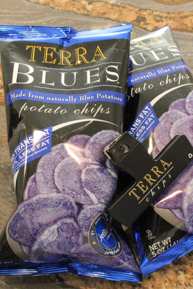 Terra Blues Potato Chip bags