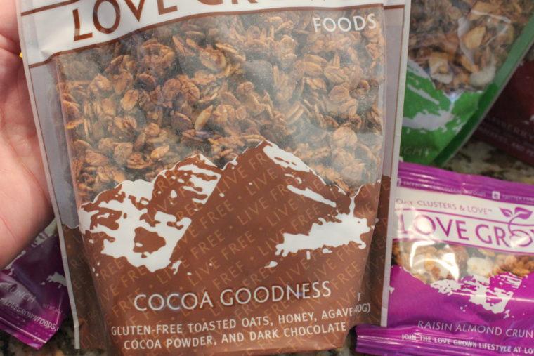 Cocoa Goodness Granola