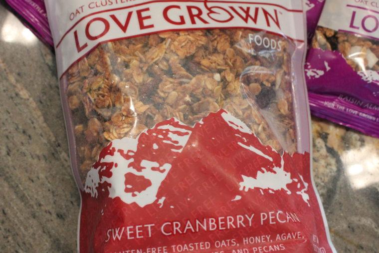 Sweet Cranberry Pecan Granola