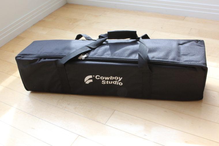 Portable Lighting Studio in carrying bag