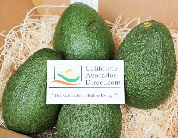 four avocados from california avocados direct