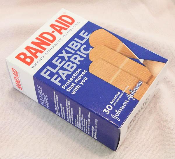Box of band-aids