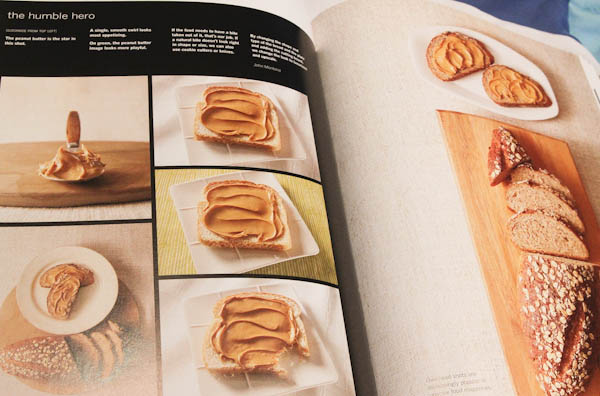 Page in book on how to make Peanut Butter pretty