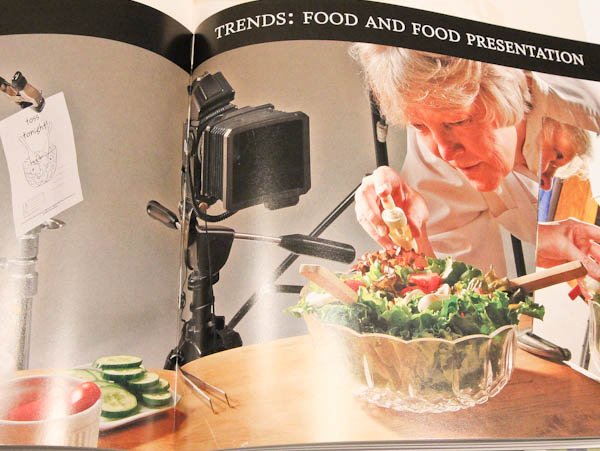 Page in book Trends: Food and Food Presentation