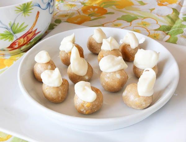 No-Bake White Chocolate & Mango Cookie Dough Bites