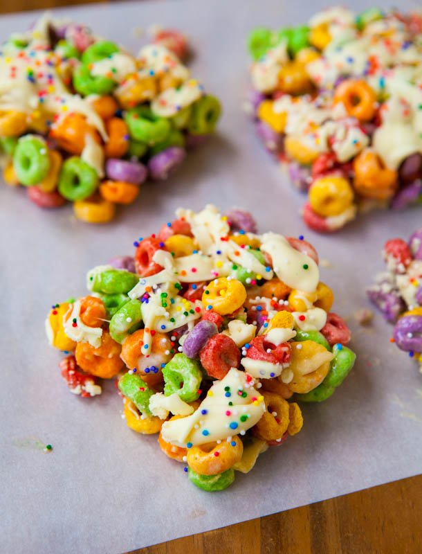 Malibu Rum Fruit Loops Treats