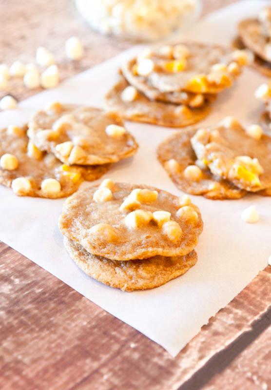 Mango and White Chocolate Cookies