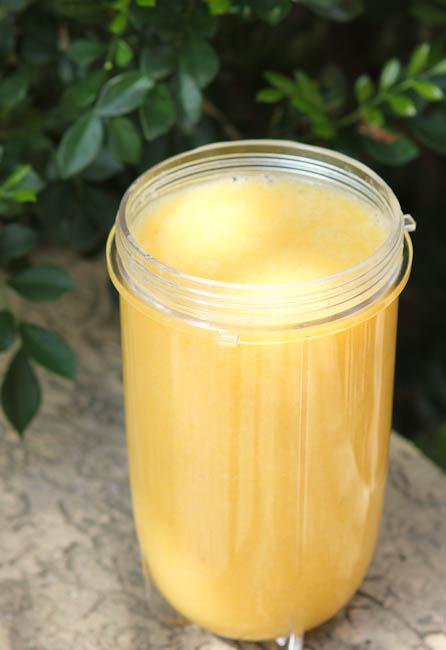 Peach Banana Colada Smoothie