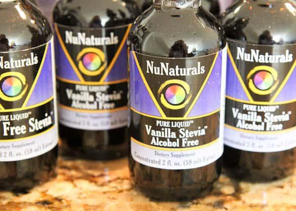 NuNaturals Vanilla Stevia drops