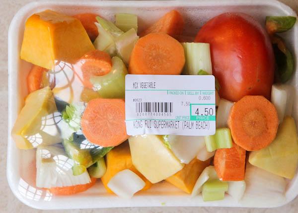 Ingredients Apple Glazed Vegetable & Edamame Stir Fry