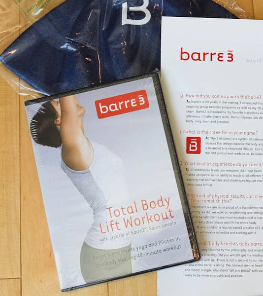 Barre3 Total Body Lift Workout DVD
