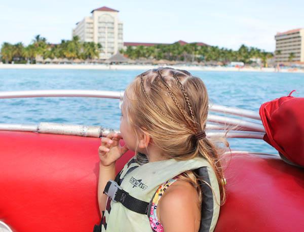 Skylar looking at the ocean