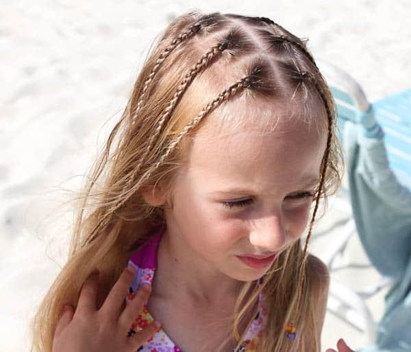 Skylar with braids