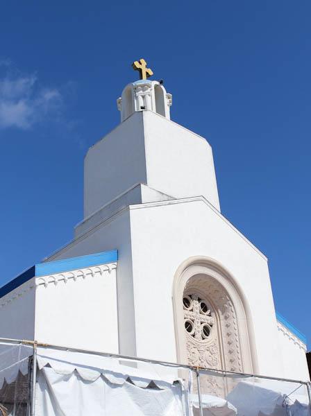 Top of a greek orthodox church