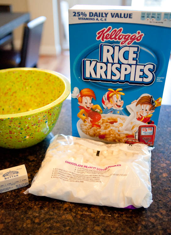 Rice Krispie Mixture ingredients
