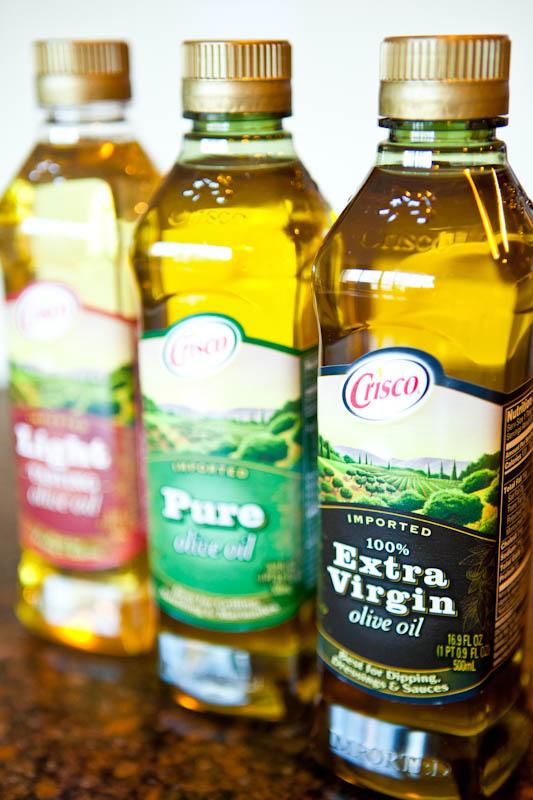 Crisco olive oils