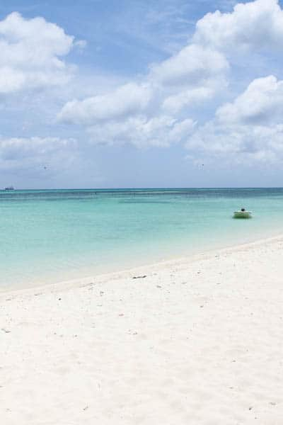 Beach of Aruba