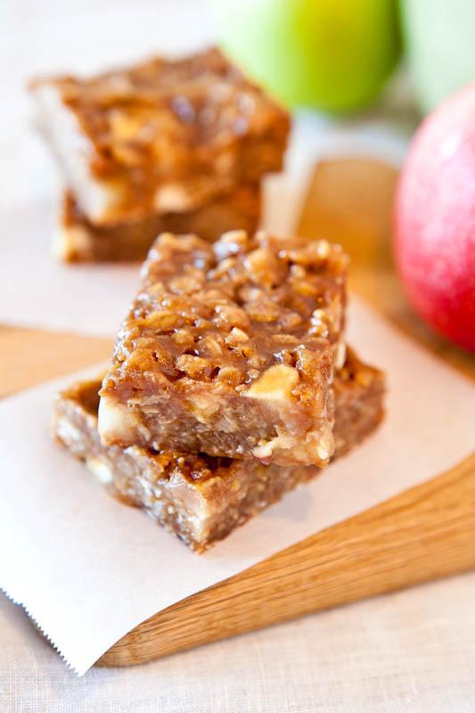 Caramel Apple Bars
