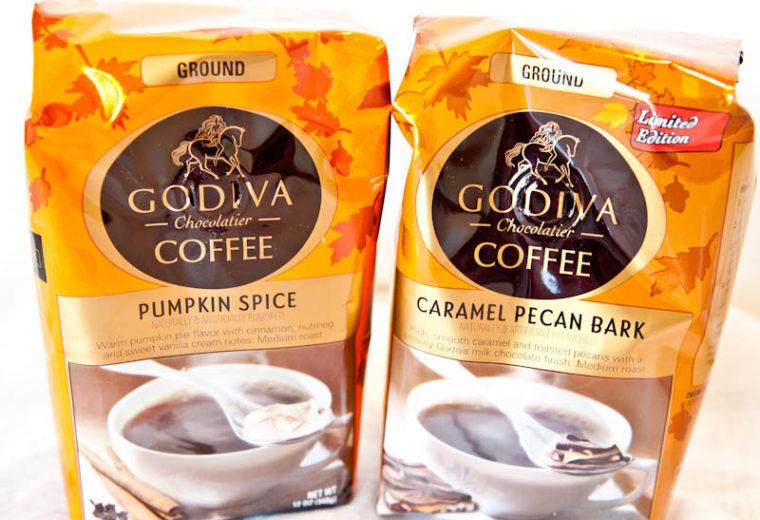 Godiva Coffees