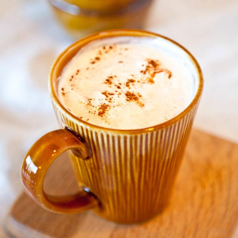 Pumpkin Spice Latte in mug