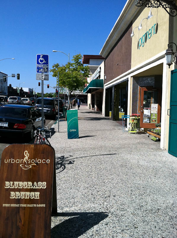 strip mall lane in san diego