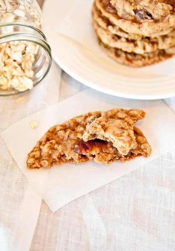 Oatmeal Raisin Cookies pieces