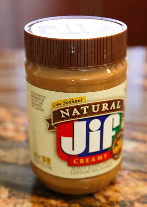 Low Sodium Natural Jif Jar