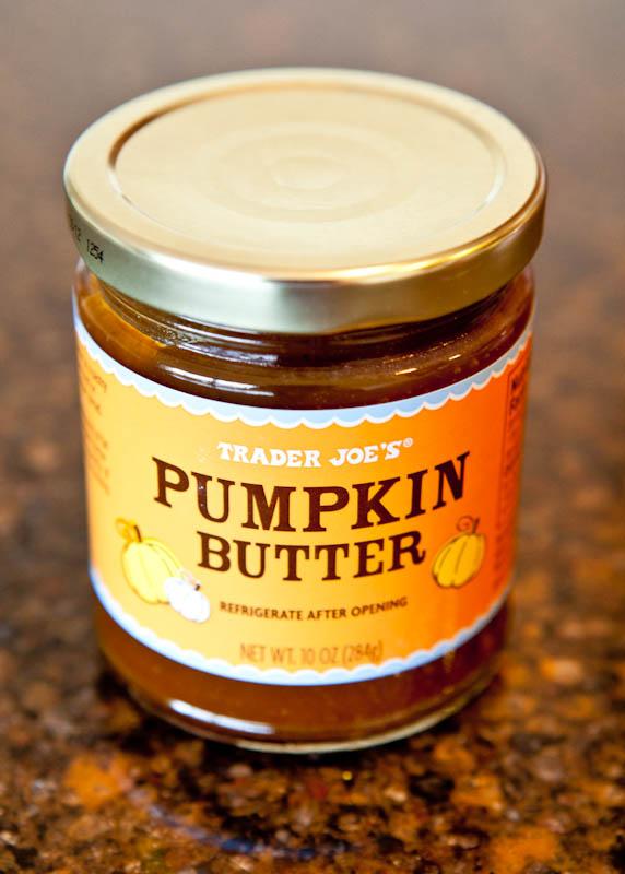 Jar of Trader Joe's Pumpkin butter