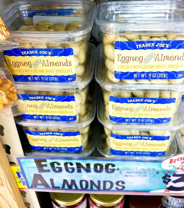 Eggnog Almonds