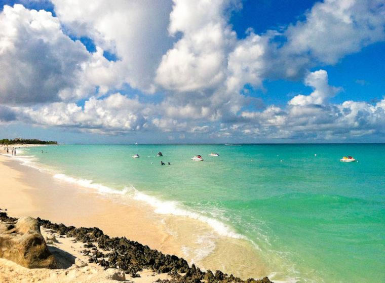 Aruba sea shores