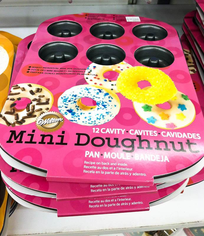 Mini donut pans