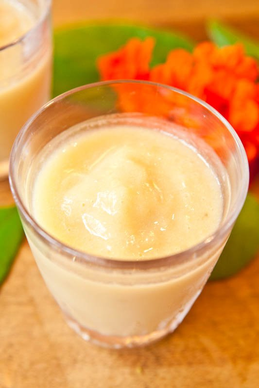 Pineapple Banana & Coconut Cream Smoothie
