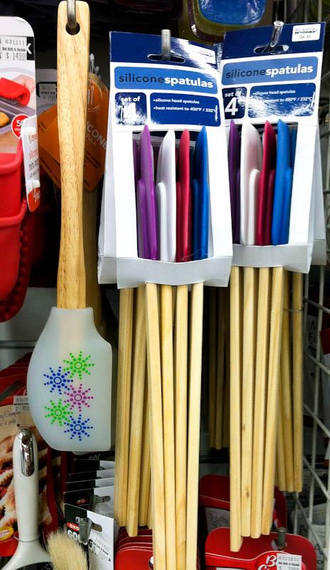 Silicone spatulas