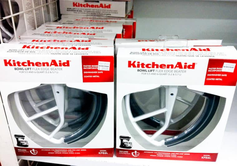 Kitchen aid flex edge beaters