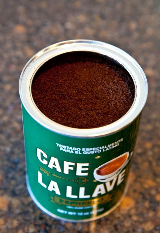 Cafe La Llave espresso can